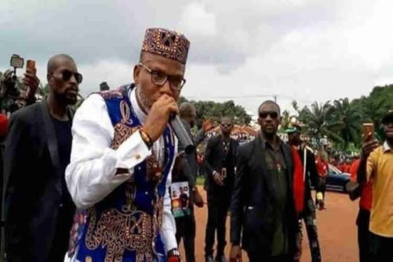 Nnamdi Kanu Pledges Support For Amotekun With One Million IPOB Men, NAIJAPARRY