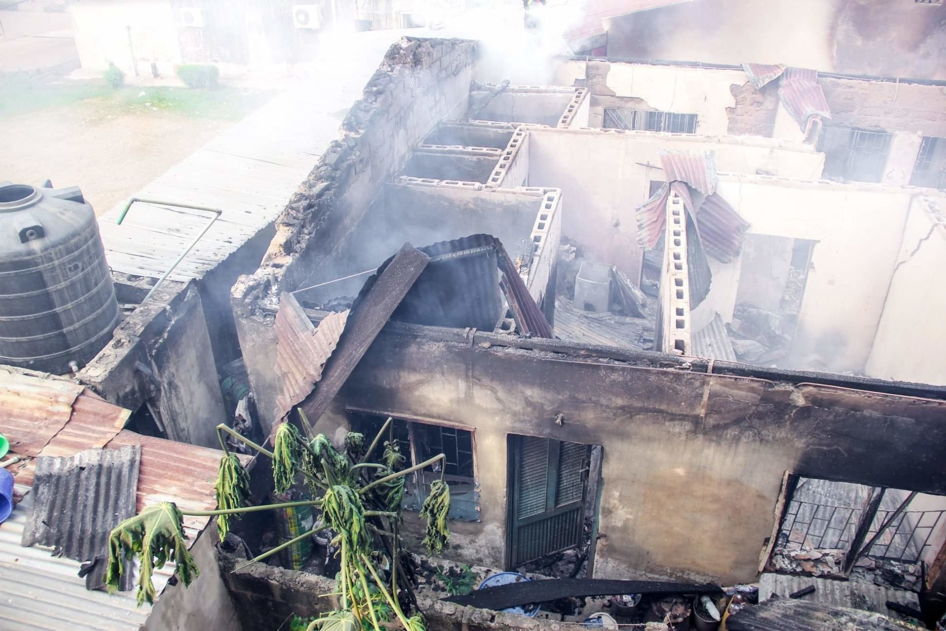 , How Fire Destroyed CAC Mission House, Properties Worth Millions In Osogbo (Photos), NAIJAPARRY, NAIJAPARRY