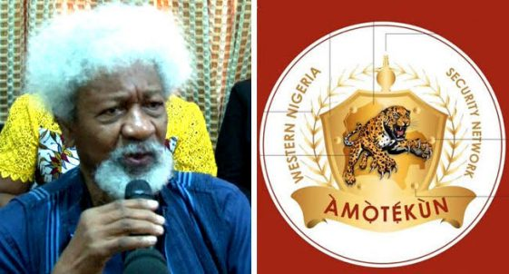 """""""Amotekun Is Going Nowhere, It Has Come To Stay"""" – Wole Soyinka Tells Buhari's Government, NAIJAPARRY"""